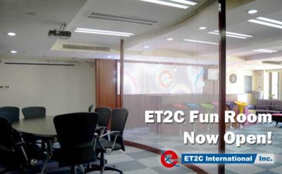 ET2C Fun Room Now Open!