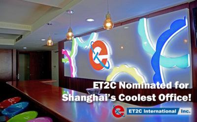 ET2C Nominated for Shanghai's Coolest Office!