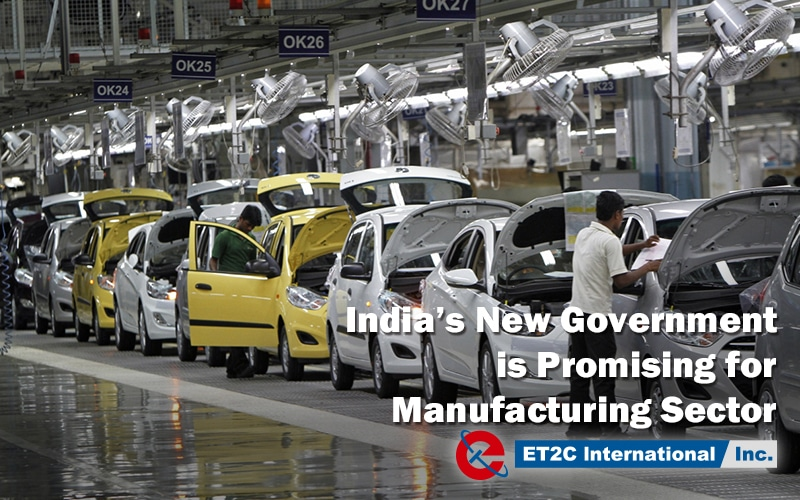 India's New Government is Promising for Manufacturing Sector