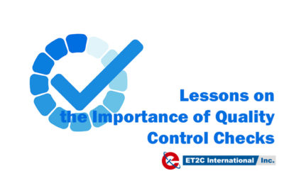 Lessons on the Importance of Quality Control Checks