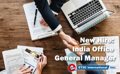 New Hire: India Office General Manager