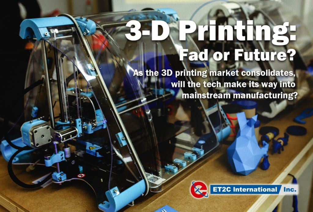 3-d printing as the future of manufacturing