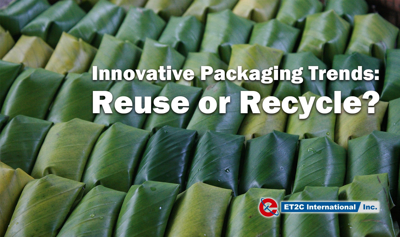 Innovative Packaging Trends Reuse or Recycle sustainability banana leaves