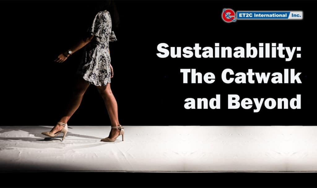 Sustainability The Catwalk and Beyond Title