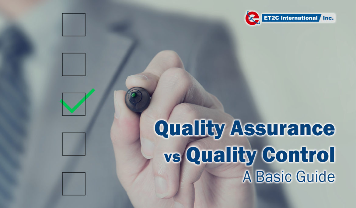 Quality Assurance vs Quality Control: a basic guide