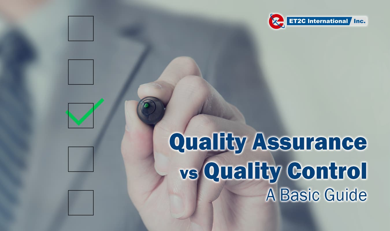 Quality Control Quality Assurance a basic guide ET2C