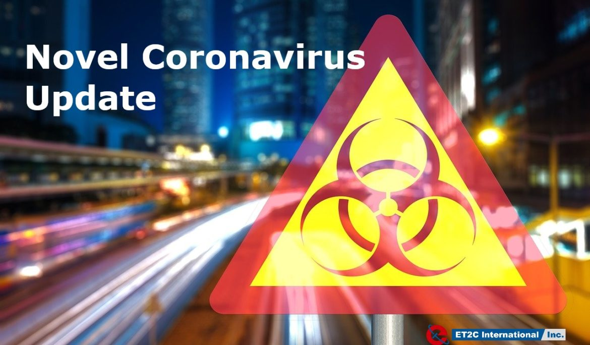 Coronavirus. ET2C's Office to Re-open on 16th March 2020