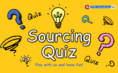 The Sourcing Quiz!