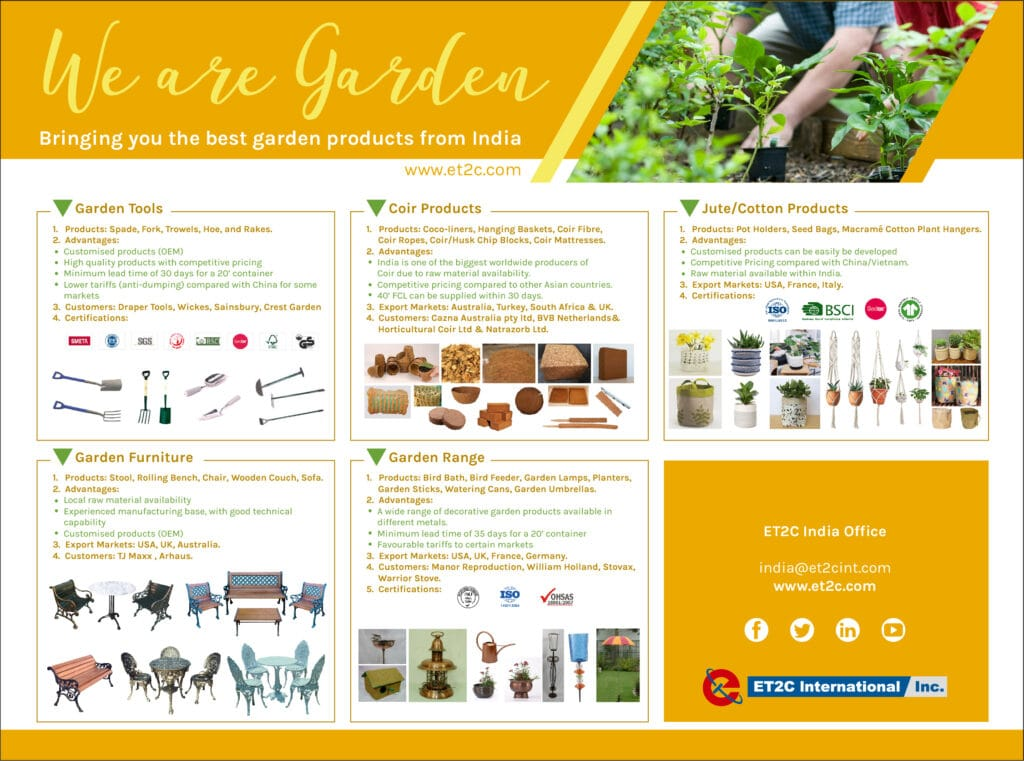 India Sourcing Insights - We Are Garden