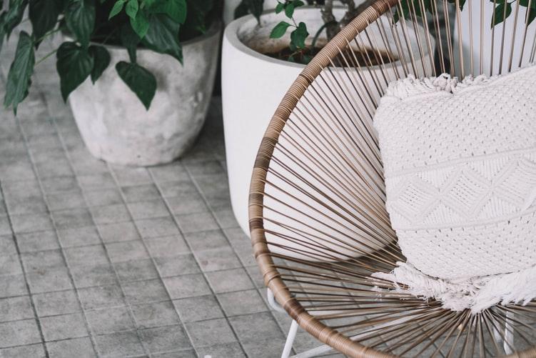 Outdoor garden rattan furniture ET2C