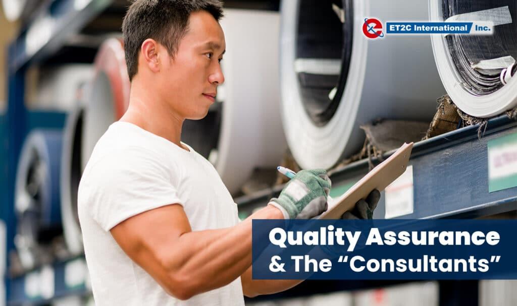 Quality Assurance Consultant ET2C Audit