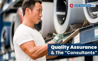 """Quality Assurance & The """"Consultants"""""""