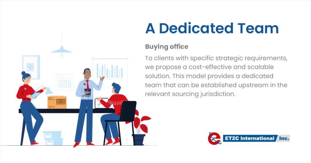 Buying Office ET2C International procurement sourcing