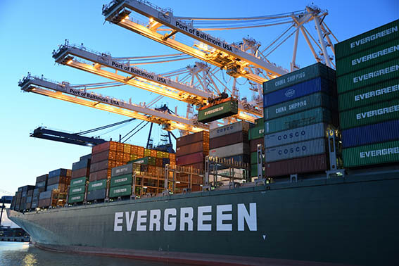 Evergreen Container Ship Suez Canal Logistic Sourcing ET2C Int.