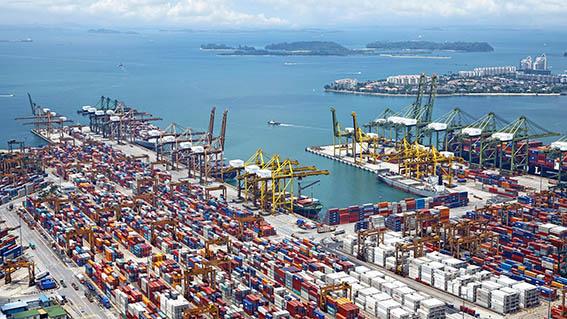 Port Container Ship Suez Canal Logistic Procurement Sourcing ET2C Int.