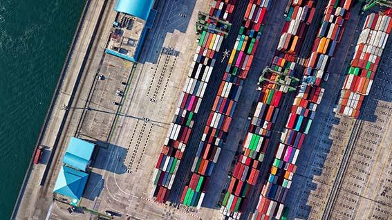 Port Container Ship Suez Canal Logistic Sourcing ET2C Int.
