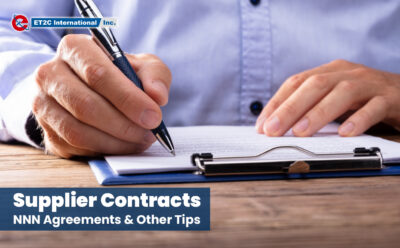 Supplier Contracts: NNN Agreements & Other Tips