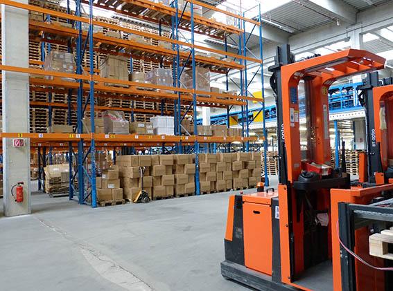 factory warehouse logistics goods