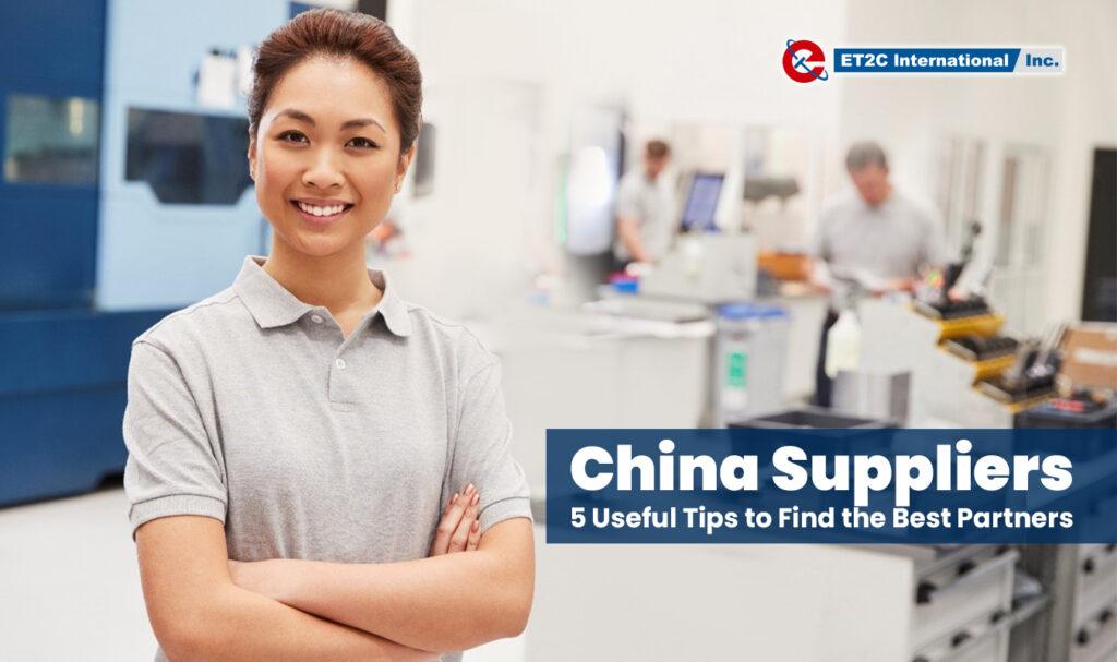China Suppliers Manufacture Asia ET2C sourcing procurement find vendors