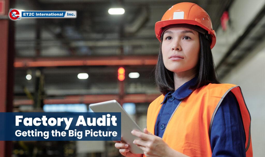 Factory Audit Inspection Sourcing Procurement ET2C International